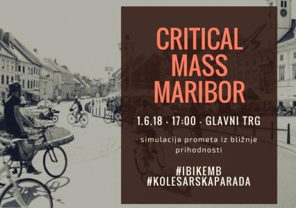 Critical mass Maribor – 1.6.18