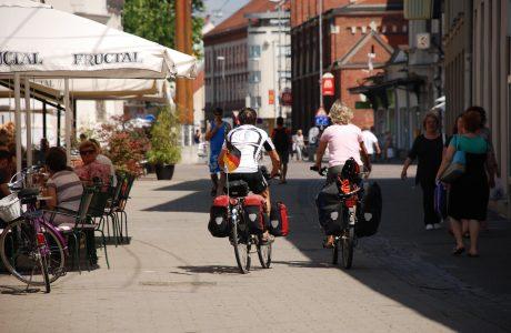Štetje kolesarjev v Mariboru