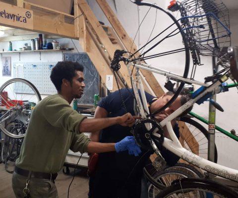 Poziv za usposabljanje kolesarskih mehanikov