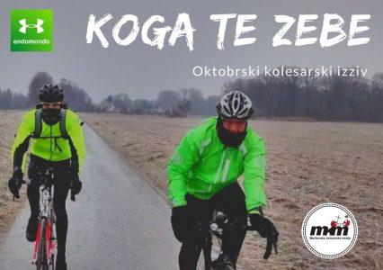 Rezultati kolesarskega izziva Koga te zebe