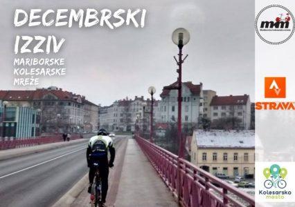 Decembrski Strava izziv Mariborske kolesarske mreže