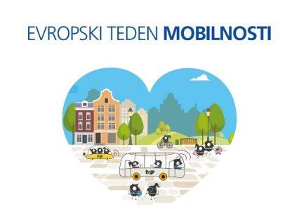 Evropski teden mobilnosti 2021 – Živi zdravo. Potuj trajnostno.