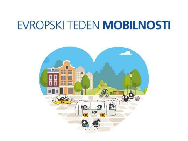 Evropski teden mobilnosti 2021 - Živi zdravo. Potuj trajnostno.